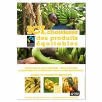 Affiche A3 filière banane - Pack Proximité Max Havelaar France