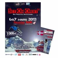 Affiche A2 + A5 Bet On Orbit 2013