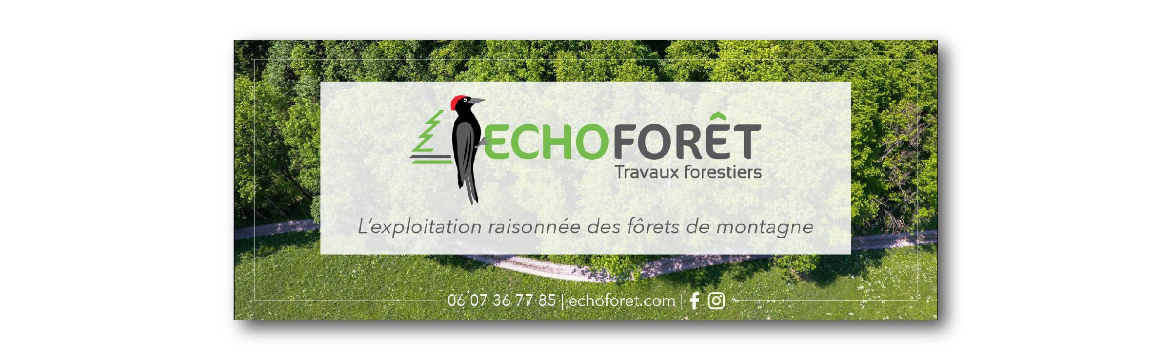 image bannière corporate Echoforêt
