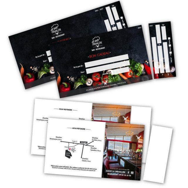 Carte cadeau avec coupon dtachable microperfor  cartecadeau ideecadeauhellip
