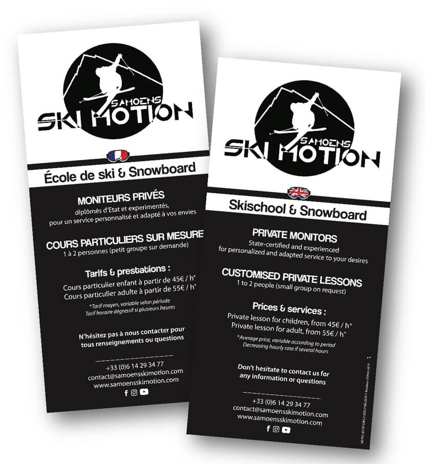 Flyer Samoens Ski Motion