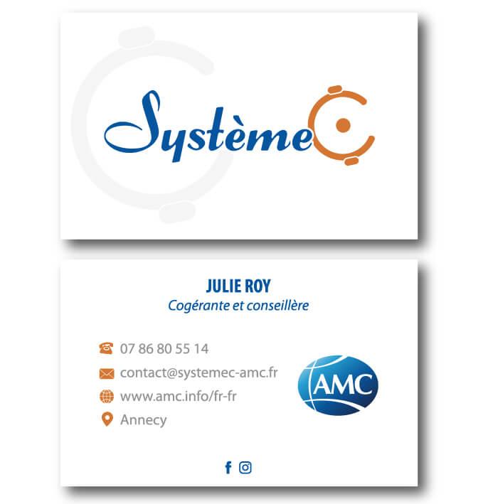 Carte de visite Systeme C