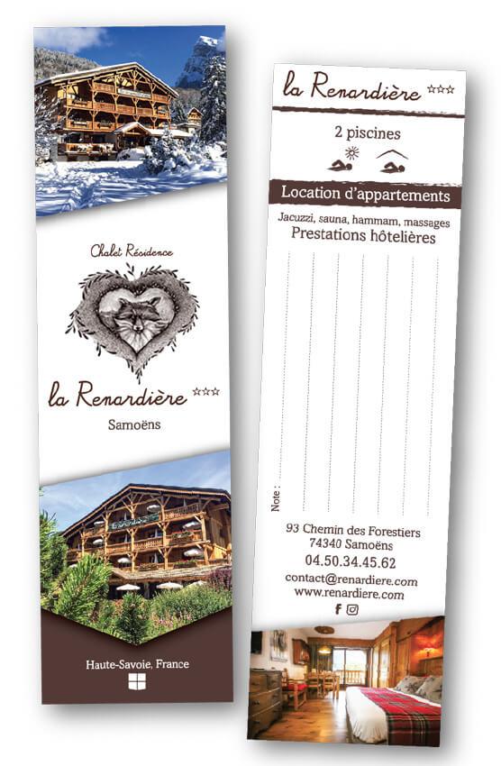 Marque-pages Résidence la Renardiere Samoëns